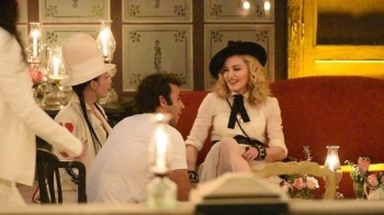 Madonna at La Guarida in Havana, Cuba - August 2016 - Pictures & Video (18)