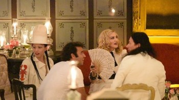 Madonna at La Guarida in Havana, Cuba - August 2016 - Pictures & Video (19)