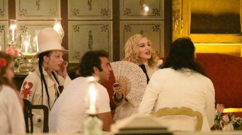 Madonna at La Guarida in Havana, Cuba - August 2016 - Pictures & Video (20)