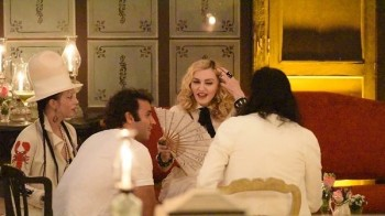Madonna at La Guarida in Havana, Cuba - August 2016 - Pictures & Video (21)