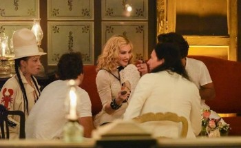 Madonna at La Guarida in Havana, Cuba - August 2016 - Pictures & Video (23)