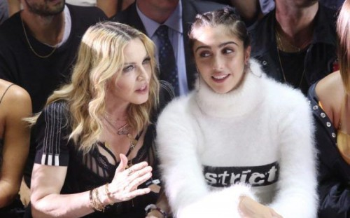 Madonna at the Alexander Wang Fashion Show, New York - 10 September 2016 - Pictures & Videos (4)