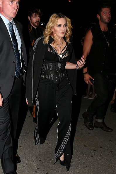 Madonna at the Alexander Wang Fashion Show, New York - 10 September 2016 - Pictures & Videos (5)