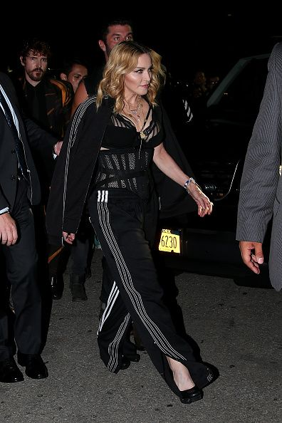 Madonna at the Alexander Wang Fashion Show, New York - 10 September 2016 - Pictures & Videos (6)