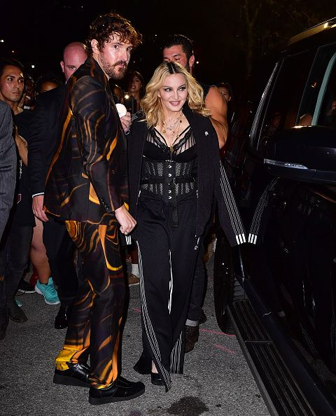 Madonna at the Alexander Wang Fashion Show, New York - 10 September 2016 - Pictures & Videos (8)