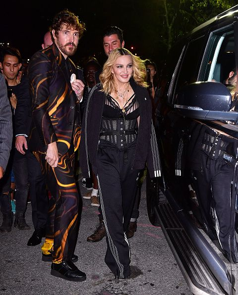 Madonna at the Alexander Wang Fashion Show, New York - 10 September 2016 - Pictures & Videos (10)