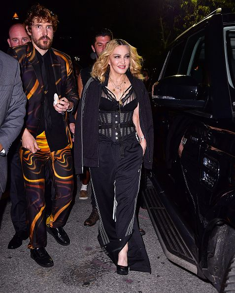 Madonna at the Alexander Wang Fashion Show, New York - 10 September 2016 - Pictures & Videos (13)