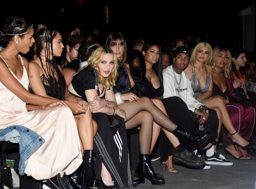 Madonna at the Alexander Wang Fashion Show, New York - 10 September 2016 - Pictures & Videos (19)