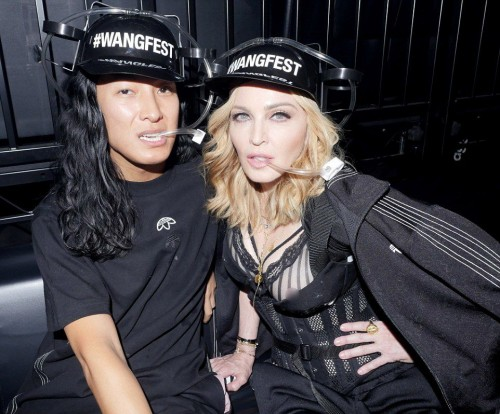 Madonna at the Alexander Wang Fashion Show, New York - 10 September 2016 - Pictures & Videos (22)