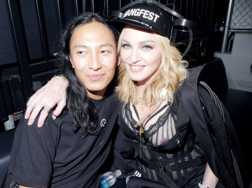 Madonna at the Alexander Wang Fashion Show, New York - 10 September 2016 - Pictures & Videos (23)