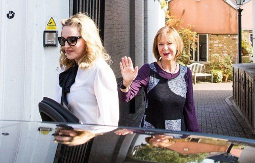 Madonna out and about in London - 13 September 2016 - Pictures  Video (7)