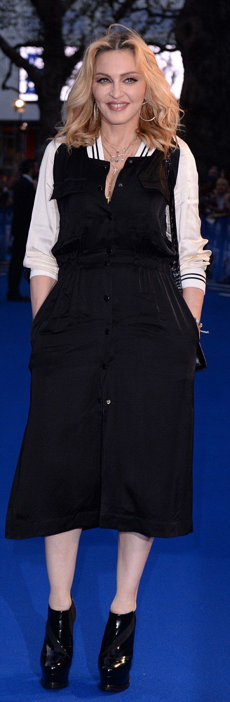Madonna at the new Beatles documentary in London - 15 September 2016 - Pictures and Videos (4)