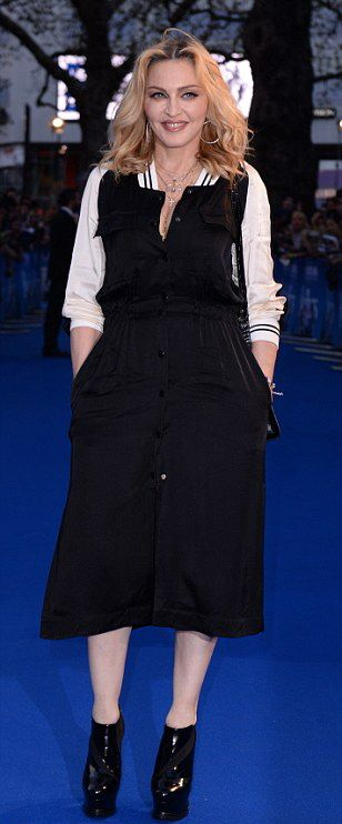 Madonna at the new Beatles documentary in London - 15 September 2016 - Pictures and Videos (6)