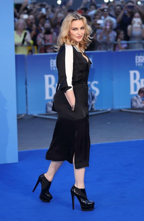 Madonna at the new Beatles documentary in London - 15 September 2016 - Pictures and Videos (7)