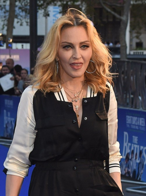 Madonna at the new Beatles documentary in London - 15 September 2016 - Pictures and Videos (9)
