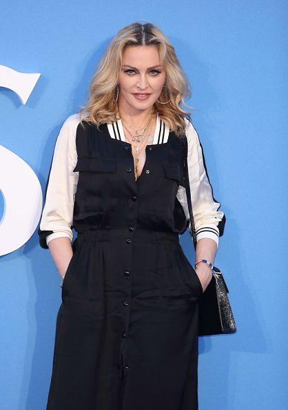 Madonna at the new Beatles documentary in London - 15 September 2016 - Pictures and Videos (10)