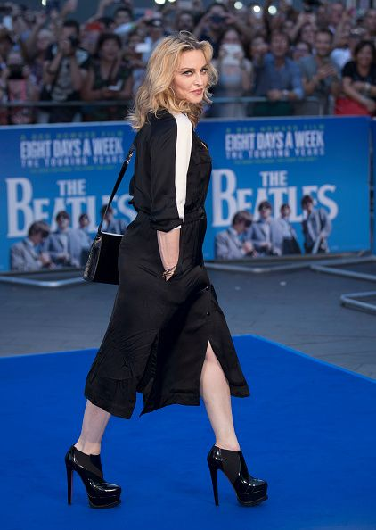 Madonna at the new Beatles documentary in London - 15 September 2016 - Pictures and Videos (11)