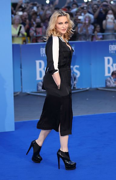 Madonna at the new Beatles documentary in London - 15 September 2016 - Pictures and Videos (12)