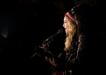 Madonna performs 5 acoustic songs at Washington Square Park  New York (3)