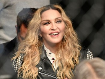 Madonna attends UFC 205 at Madison Square Garden, New York - 12 November 2016 (2)