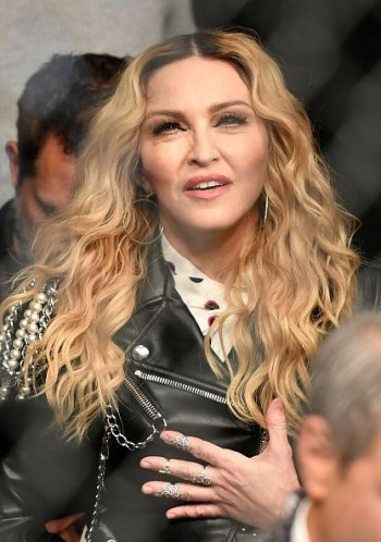 Madonna attends UFC 205 at Madison Square Garden, New York - 12 November 2016 (3)