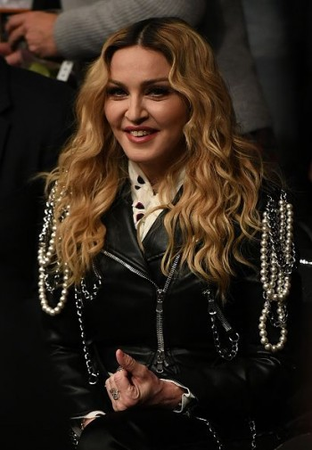 Madonna attends UFC 205 at Madison Square Garden, New York - 12 November 2016 (6)