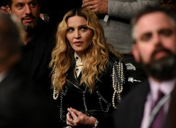 Madonna attends UFC 205 at Madison Square Garden, New York - 12 November 2016 (8)