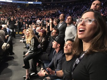 Madonna attends UFC 205 at Madison Square Garden, New York - 12 November 2016 (9)