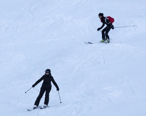 Madonna skiing in Verbier, Switzerland - 29 December 2016 - Pictures (7)