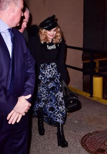 Brooklyn Talks Madonna X Marilyn Minter - 19 January 2017 (4)