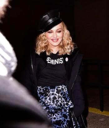 Brooklyn Talks Madonna X Marilyn Minter - 19 January 2017 (6)