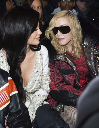 Madonna attends Philipp Plein fashion show, New York - 13 February 2017 (1)