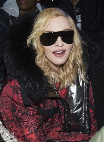 Madonna attends Philipp Plein fashion show, New York - 13 February 2017 (2)