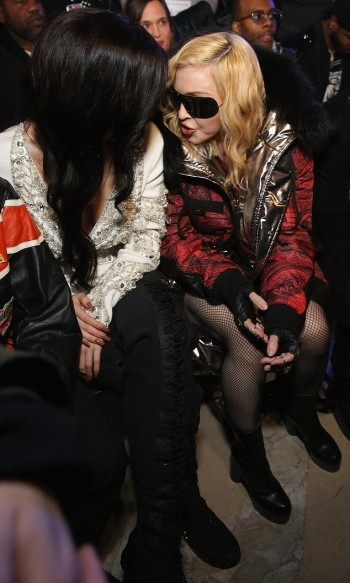 Madonna attends Philipp Plein fashion show, New York - 13 February 2017 (2) (6)