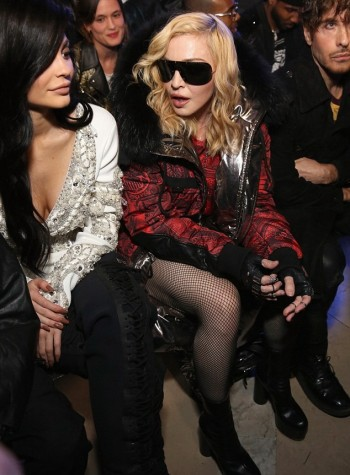 Madonna attends Philipp Plein fashion show, New York - 13 February 2017 (2) (7)