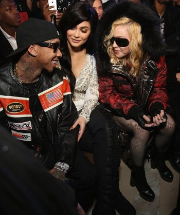 Madonna attends Philipp Plein fashion show, New York - 13 February 2017 (2) (9)