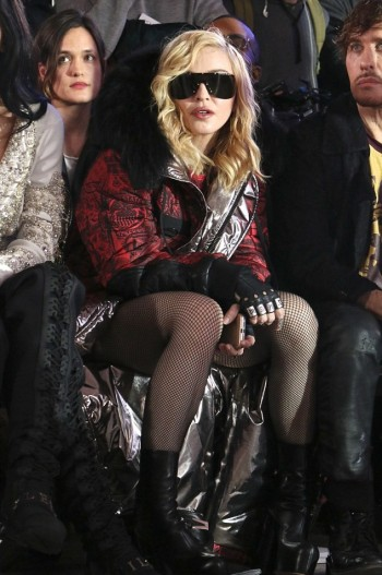 Madonna attends Philipp Plein fashion show, New York - 13 February 2017 (2) (14)