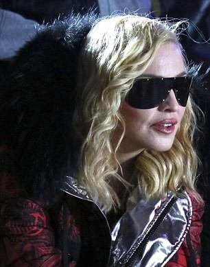 Madonna attends Philipp Plein fashion show, New York - 13 February 2017 (2) (15)