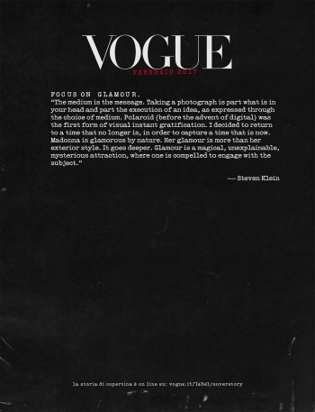 Madonna by Steven Klein for Vogue Italia - February 2017 issue Scans (4)