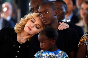 Madonna attends The Mercy James Centre opening in Blantyre, Malawi 11 July 2017 (1)