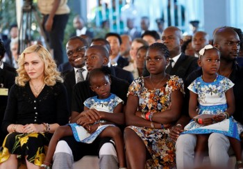 Madonna attends The Mercy James Centre opening in Blantyre, Malawi 11 July 2017 (2)