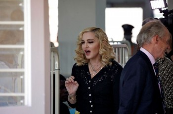 Madonna attends The Mercy James Centre opening in Blantyre, Malawi 11 July 2017 (3)