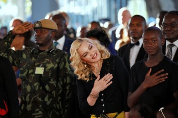 Madonna attends The Mercy James Centre opening in Blantyre, Malawi 11 July 2017 (4)