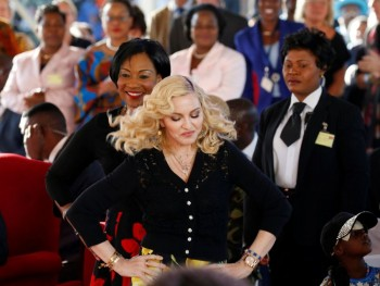 Madonna attends The Mercy James Centre opening in Blantyre, Malawi 11 July 2017 (6)