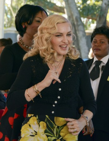 Madonna attends The Mercy James Centre opening in Blantyre, Malawi 11 July 2017 (12)