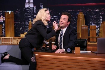 Madonna on The Tonight Show Starring Jimmy Fallon update (2)