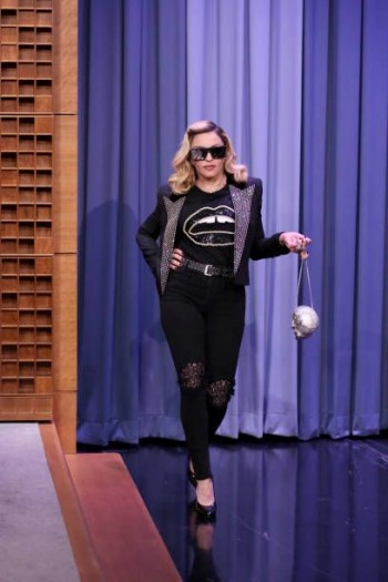 Madonna on The Tonight Show Starring Jimmy Fallon update (6)