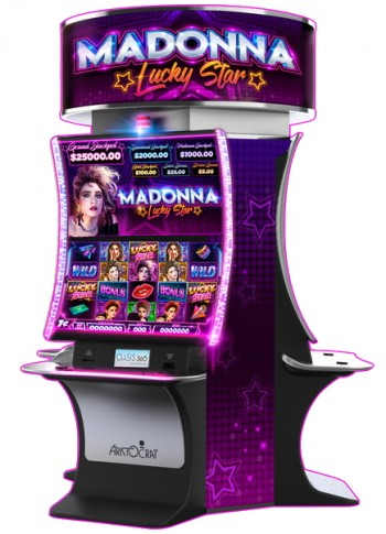 The first Madonna Slot Machine Game Unveiled