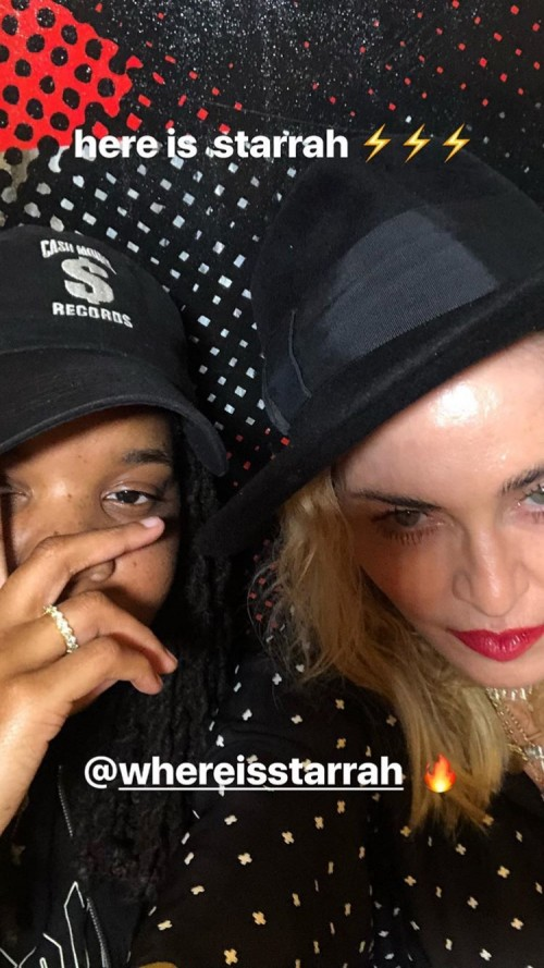 Madonna collaborates with Starrah on new album