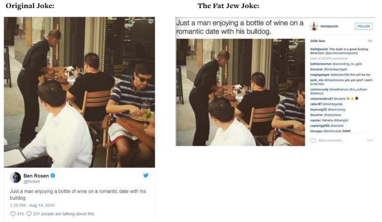 The Fat Jew allegedly steals jokes 01